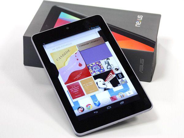 Nexus 7 Boite