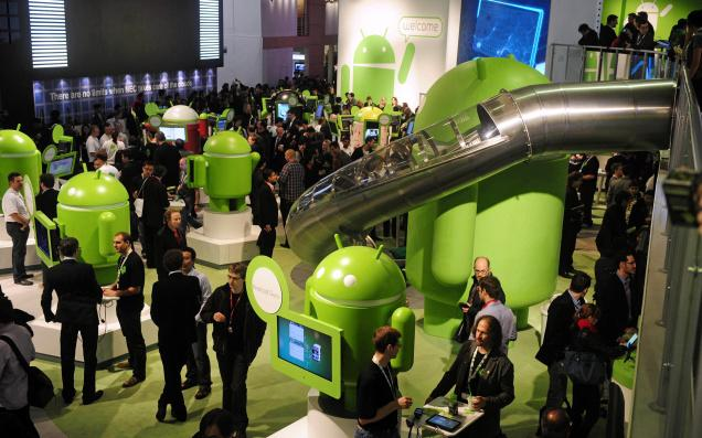 Stand Google au Mobile World Congress