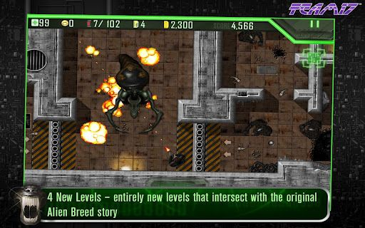 alien breed android jeu