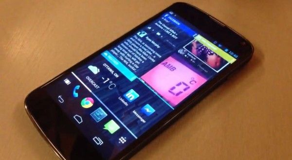 chameleon android smartphone launcher