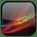 logo Xperia Z fond d'écran animé