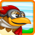 logo Chicken Dynamo - Tilt and Fly