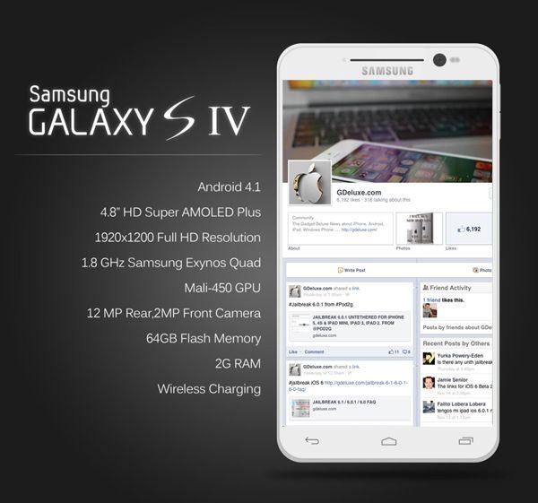 concept galaxy S4 3