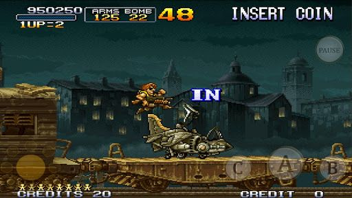 metal slug 2 android jeu