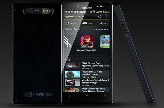 nvidia phoenix smartphone 5 pouces