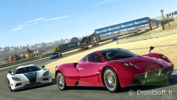 real racing 3 android, Real Racing 3 le teaser avant la sortie
