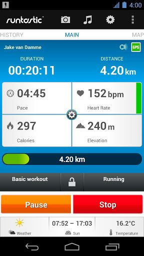 runastic pro 2 android