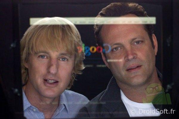 the intership google film