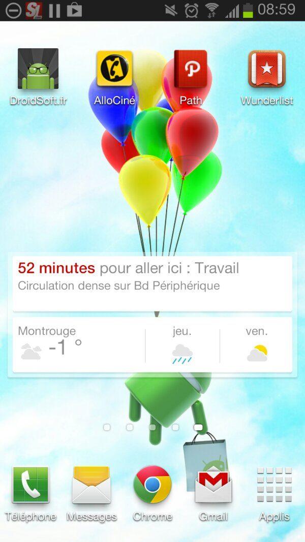 widget google now