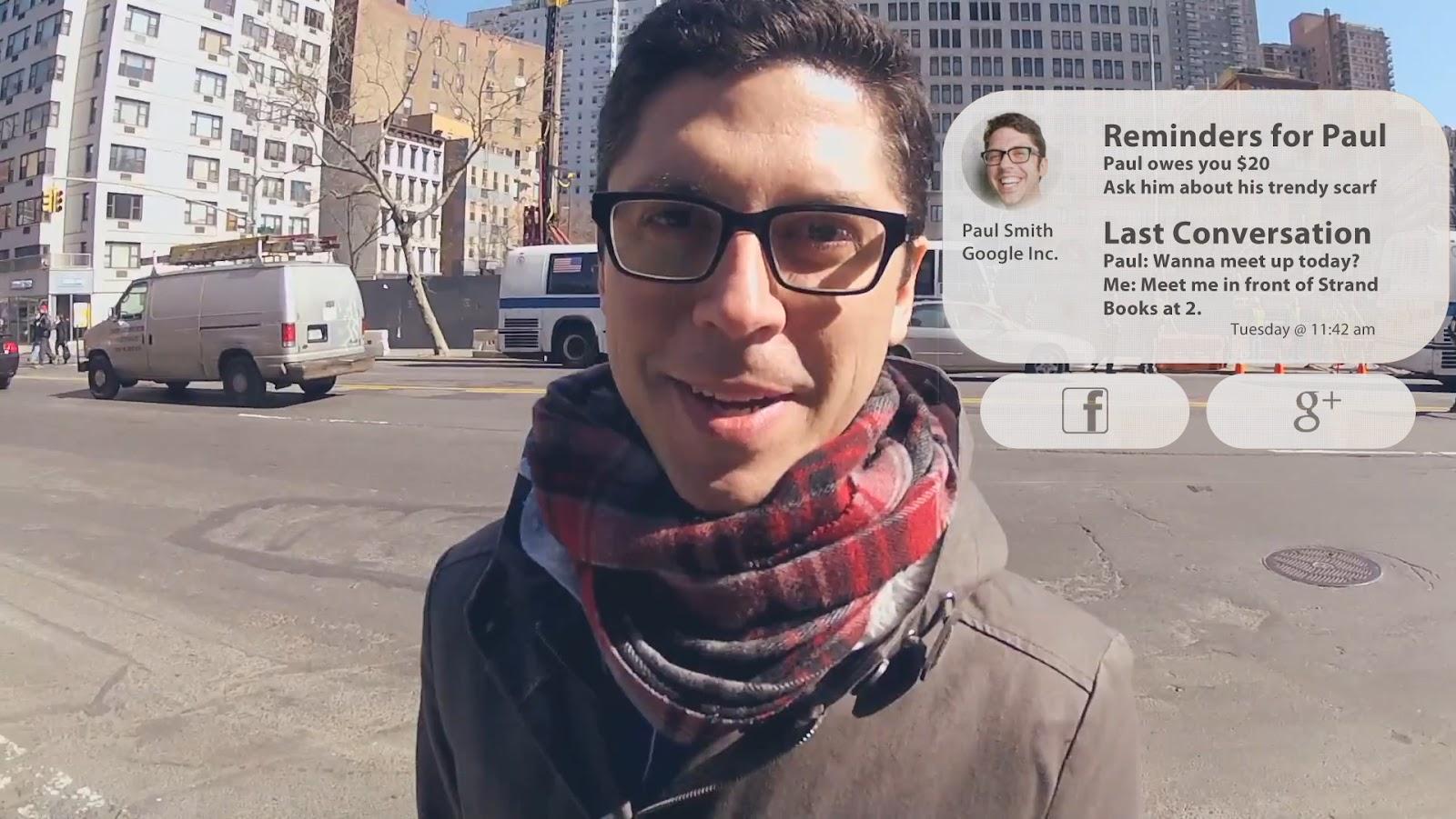 Face-Rec Google Glass