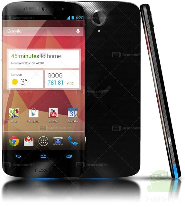 Google Nexus 5 concept