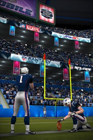 NFL Kicker 2013 Android jeu gratuit