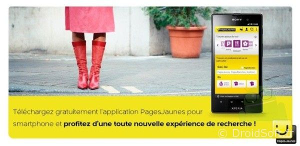 PagesJaunes android