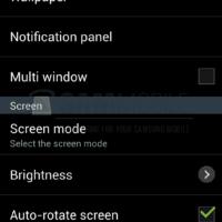 Reglages Galaxy S4 2