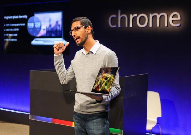Le nouveau patron de Chrome et Android : Sundar Pichai