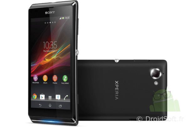 Xperia L smartphone sony 2013