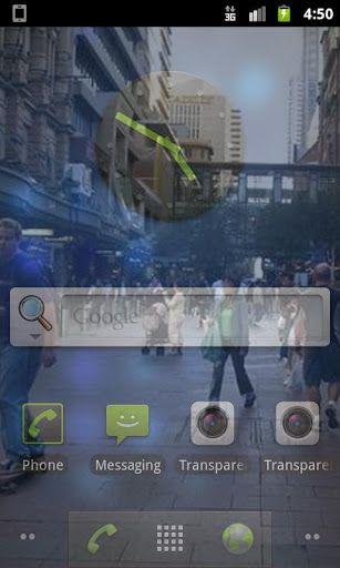 app gratuite ecran transparent android