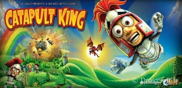 chillingo catapult king jeu