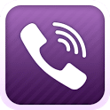 logo Viber : Free Calls & Messages