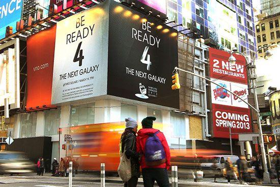 galaxy S4 a new-york