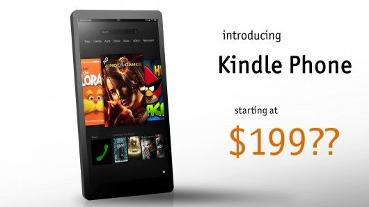 kindle phone amazon