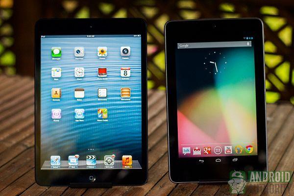 nexus 7 HD vs iPad Mini Retina