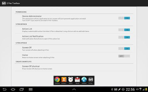 s pen toolbox android