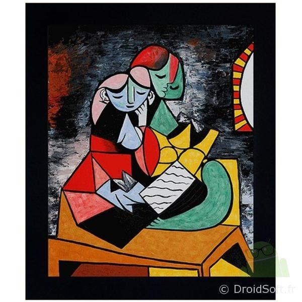 wallpaper picasso guitare android
