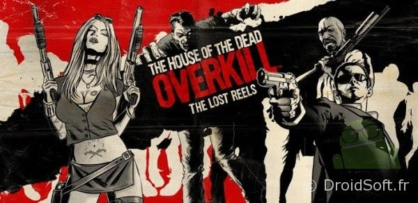 House of the Dead Overkill android jeu