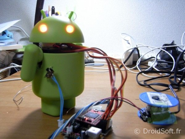 android robot fake