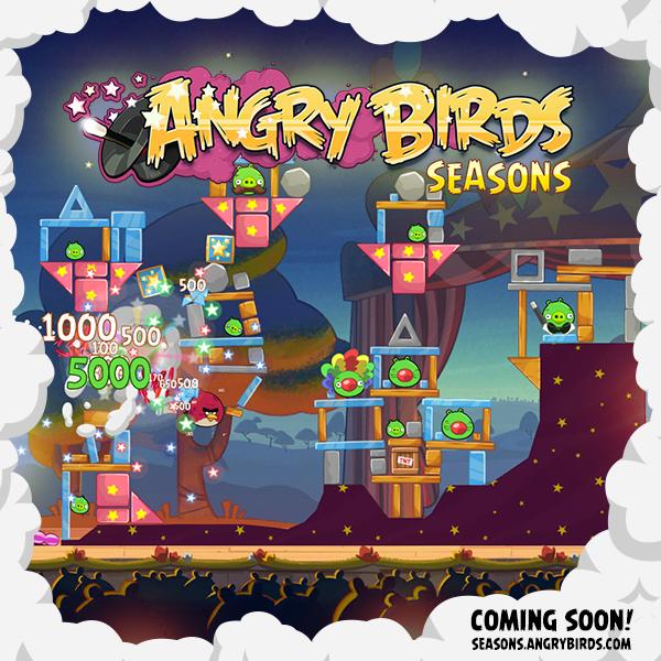 angry birds season maj