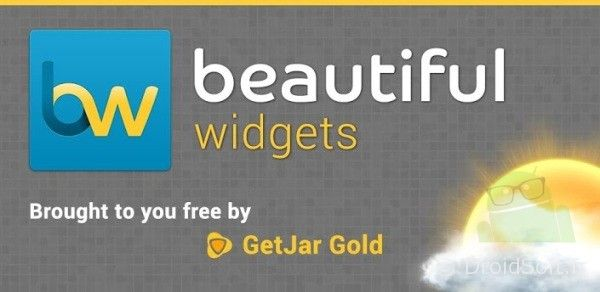 beautiful widgets gratuit android
