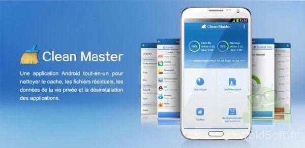 clean master android app gratuite