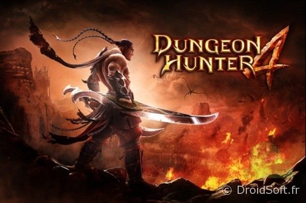 dungeon hunter 4 android repousse