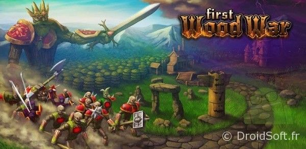 first wood war rts android jeu