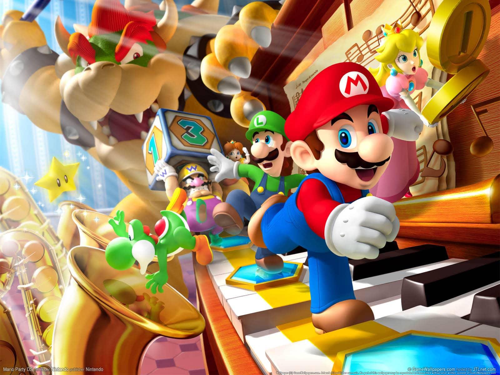 mario jeux vidéo wallpaper fond ecran