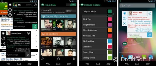 ninja sms android