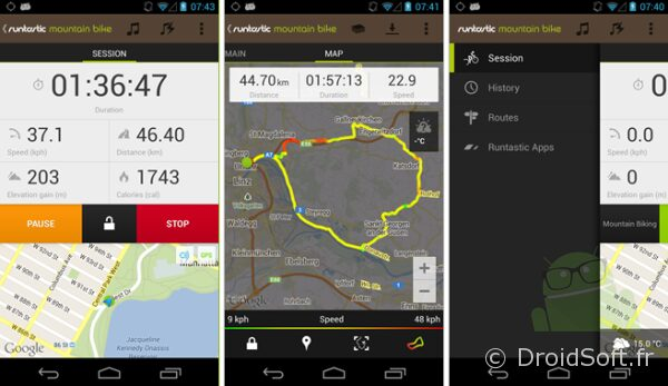 runtastic mountain android