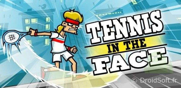 tennis in the face android