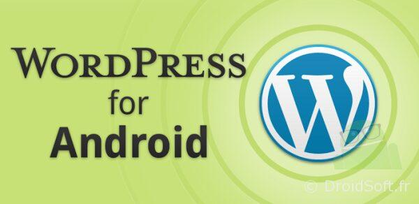 wordpress android app gratuite