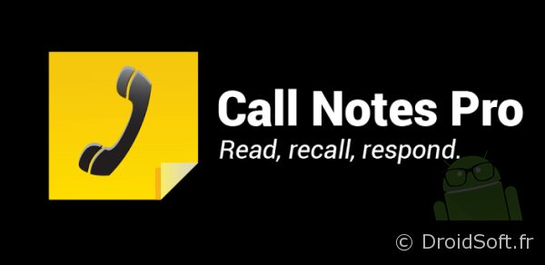 Call notes pro android bon plan