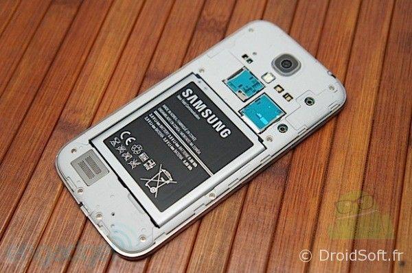 Samsung Galaxy S4 stockage