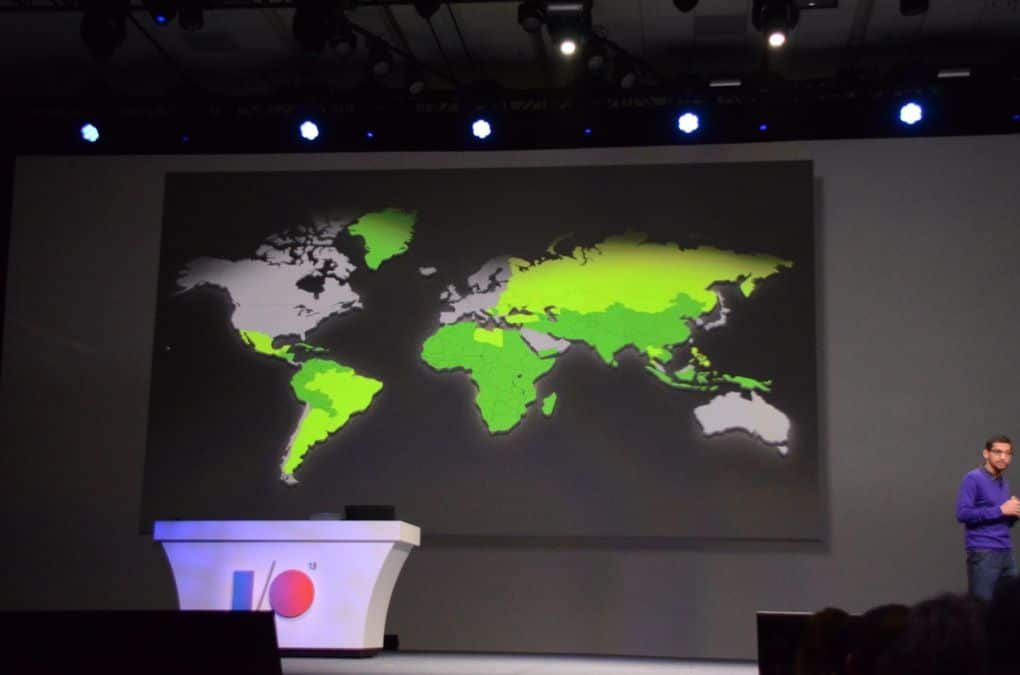 carte penetration android monde