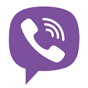 logo Viber : Free Messages & Calls