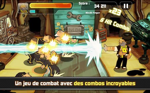combo crew android jeu