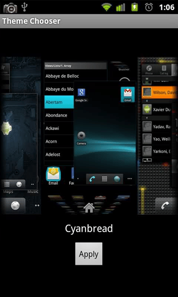 cyanogenmod theme
