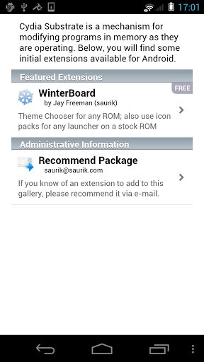 cydia android app