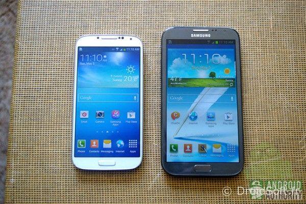 galaxy S4 Galaxy Note 2 Samsung
