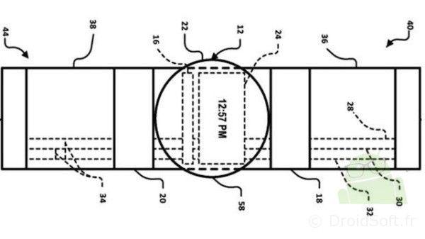 cristal de reloj inteligente de google