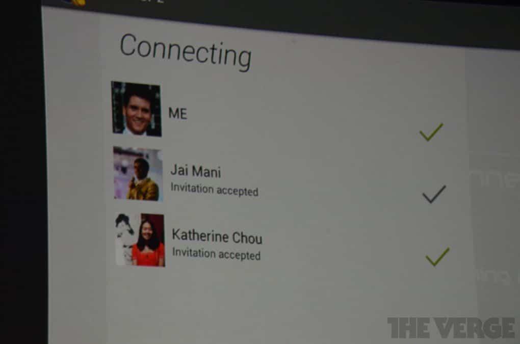 invitation google play service